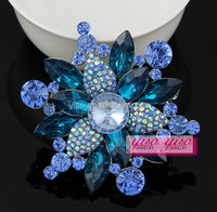 good quality funny fashion big floral brooch