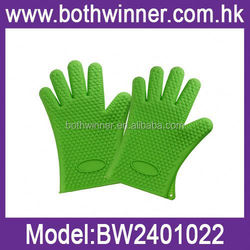 LK060 silicone barbeque gloves