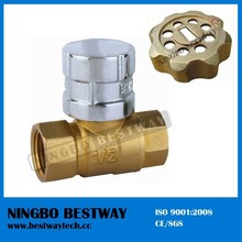 Wholesale Brass Ball Valve with Lock for Water Meter