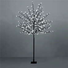 Outdoor/Indoor White Led Blossom Tree, 1.2 Metre, White Led Cherry Tree