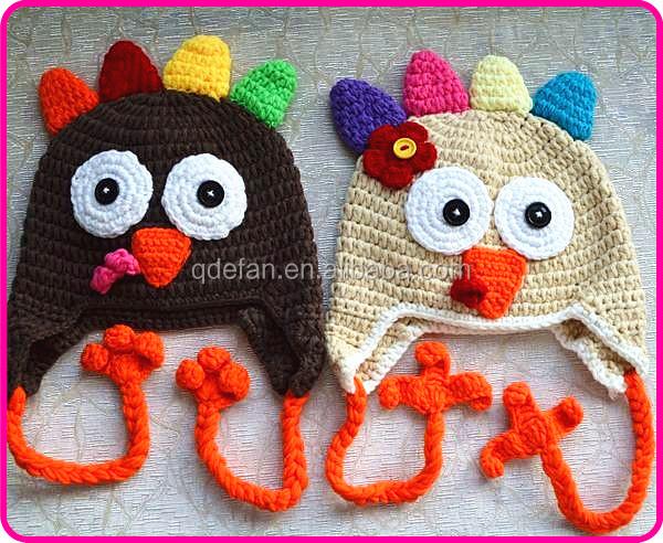 Crochet Baby Hat Pattern Super Bulky Yarn : Crochet Turkey Hat Free Knitting Pattern Crochet Kids ...