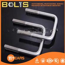 galvanized steel square u bolt
