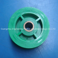 Manufacture ODM and OEM small tolerance mold nylon plastic pulley plastic injection molding product