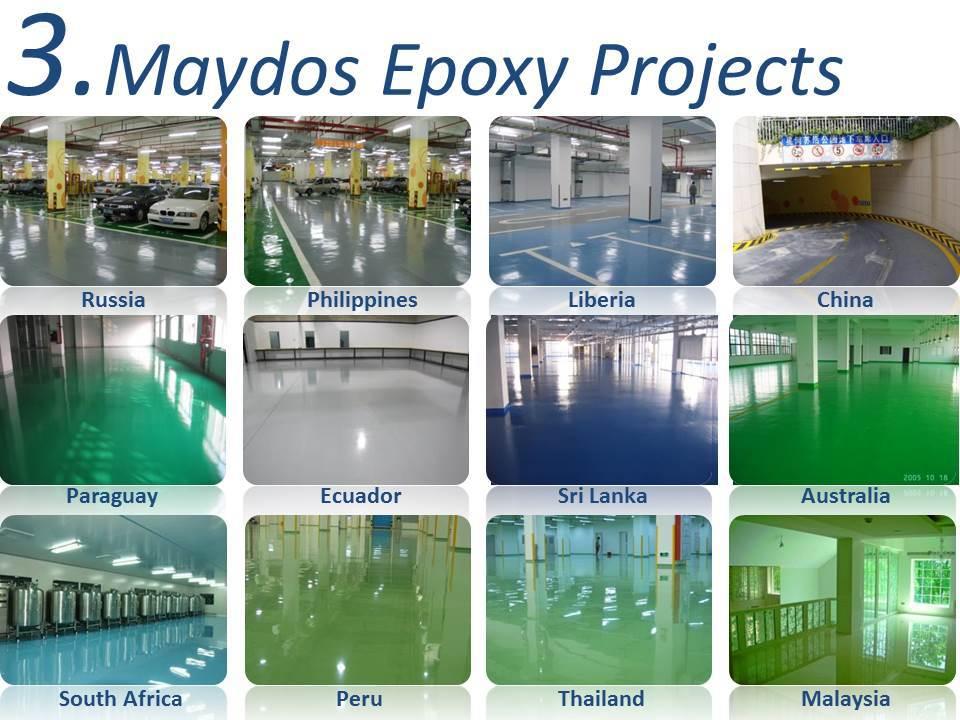 China Top 5 - Maydos Oil Based Stone Hard Self Leveling Epoxy Floor Coating