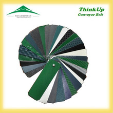anti static conveyor pvc belt,Green pvc conveyor belt,High transverse rigidity conveyor belt