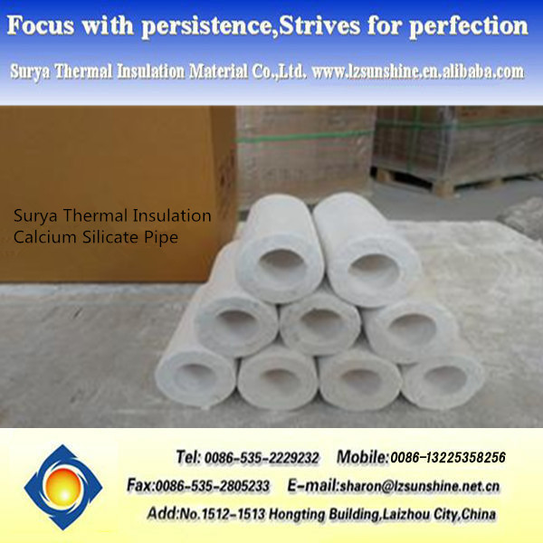 Calcium Silicate Pipe Cover : Insulation pipe calcium silicate cover buy
