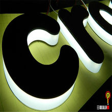 led acrylic plastic lighted letter