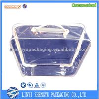 white packaging wire frame bedding plastic bag transparent bag