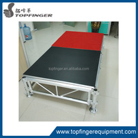 portable stage for event stage for performance