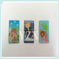 crystal fridge magnet with scenery and animal pattern