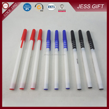 Promotional White Thin Hotel Plastic Ball Point Pen