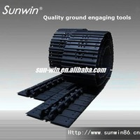 earth moving parts,bulldozer chassis track shoe/track pad