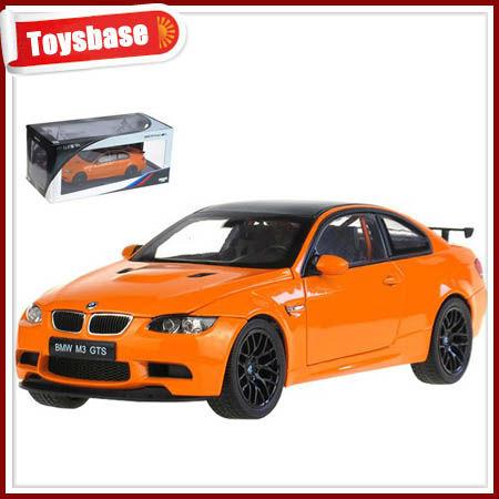 Die cast modèle de voiture miniature jouet, Métallique 4ch rc voiture avec la lumière
