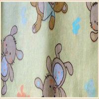 new design custom frog printed flannel fleece fabric for blankets