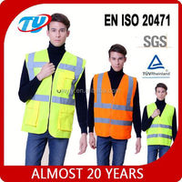 Factory work pictures of vests for men