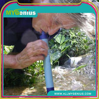 outdoor river lake water purification filter ,Y083, water purifier straw,a portable filtration system tool