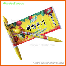 OEM Logo Rubber Grip Plastic Retractable Ball Pen