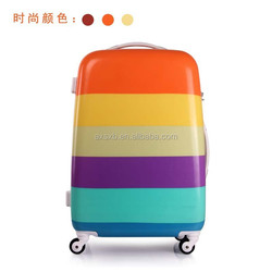 2015 ABS+PC luggage /3pcs(20 24 28)/trolley luggage/trolley suitcase