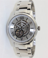 Stainless steel Mechanical Skeleton custom watch for men