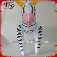 inflatable zebra toy