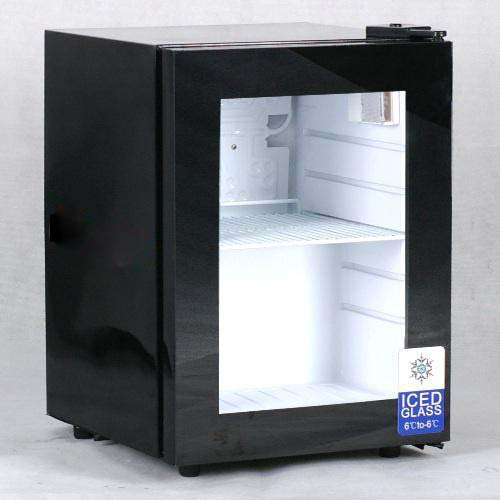 50l mini freezer glass door table top ice cream freezer for Table top freezer