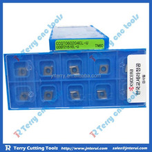 Kyocera carbide cutting inserts CCGT060204EL-U TN60 with reasonable price, large stock