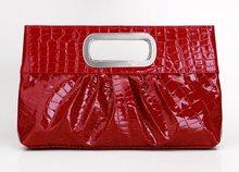elegante bolso de cuero de patente bolsos al por mayor
