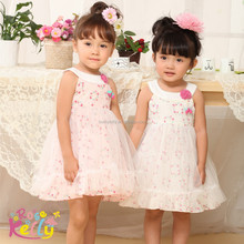 Summer happy baby dress children casual clothing packs