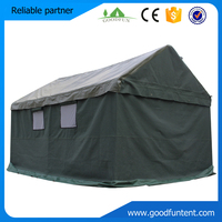 Dark green color durable big military tent, used army tent for sale