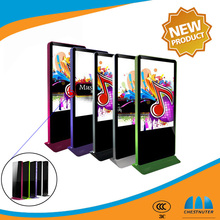 55 inch standing large size custom color touch screen wifi digital photo frame