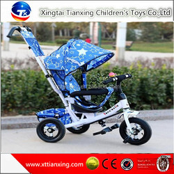 Wholesale high quality best price hot sale child tricycle/kids tricycle baby stroller with air tire
