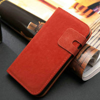 2014 new arrive hot selling vintage flip leather back cover for galaxy s4