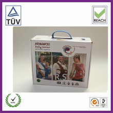 full color printed cardboard box for baby carrier
