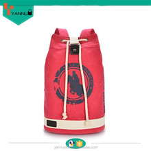 latest arrival college boys and girls preppy clear candy color stylish canvas backpack with punching