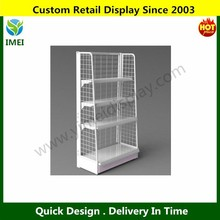 Nail Polish Wall Mounted Wire Display Rack , Retail Store Fixture YM5-724