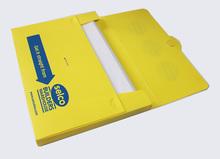 A4 paper file holder plastic covers file box