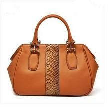 2015 Hot sale japanese design women'fashion color block bags real leather handbags