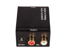 Digital to Analog TV Audio Converter Box