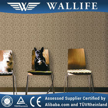 Home decoration non-woven vinyl wallpaper famous brand wallife /TR40506
