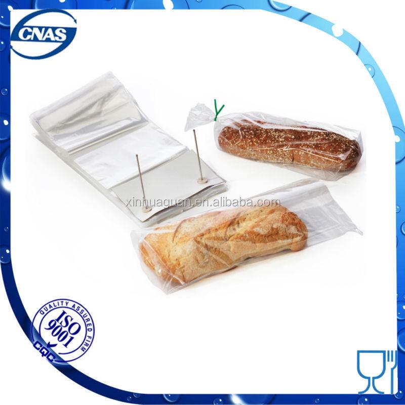 Plastic food bag for food packaging
