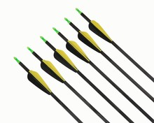 fiberglass bow and arrow suitable for all kinds bow