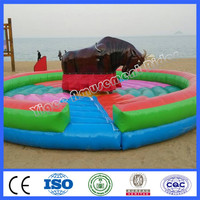 Cheap outdoor playground ride mechanical bull ride