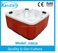 bulk sale above ground massage fuction air jet bathtub