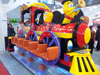 hot 12P Happy Train amusement kiddie coin operated game machine