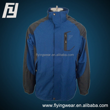 Men Active Winter Removable Windproof Padding Jacket with Polar Fleece