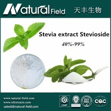 Sweetening substitute stevia leaf extract powder steviosides