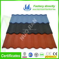 Concrete lightweight Shake Tile coated steel roofing sheet