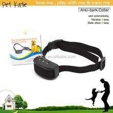 Safety Effective Pet Dog Training Vibration Bark Collar 7 Levels Sensitivity Option