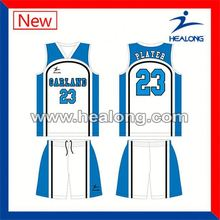 Healong No Name Biggest Factory Famous Basketball Team Jerseys
