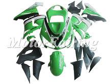 Motorcycle car body kit ABS for ZX-6R 05-06 fairing kits aftermarket motorcycle parts for Kawasaki EX-6R 2005-2006 green